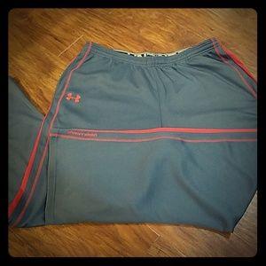 Under Armour loose performance pants men's 2XL